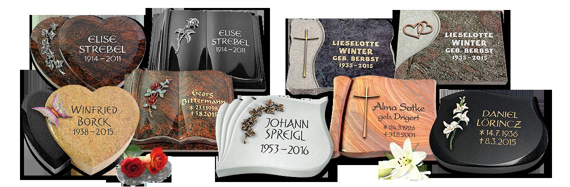 Beliebt Grabplatten günstig online bestellen | MEMORUM Grabmale PU72