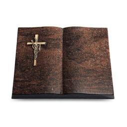 Livre/Aruba Kreuz/Ähren (Bronze)