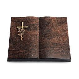 Livre/Aruba Kreuz/Rose (Bronze)