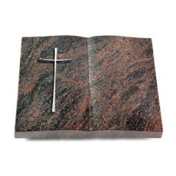 Livre/Englisch-Teak Kreuz 2 (Alu)