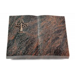 Livre/Englisch-Teak Baum 2 (Bronze)
