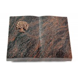 Livre/Englisch-Teak Baum 3 (Bronze)