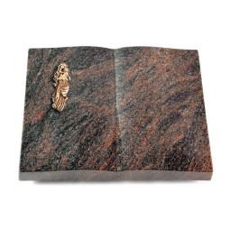 Livre/Englisch-Teak Maria (Bronze)