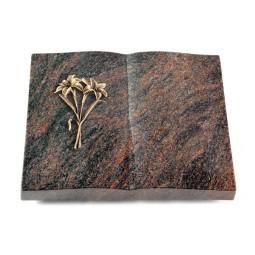Livre/Englisch-Teak Lilie (Bronze)