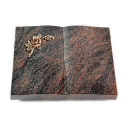 Livre/Englisch-Teak Rose 1 (Bronze)