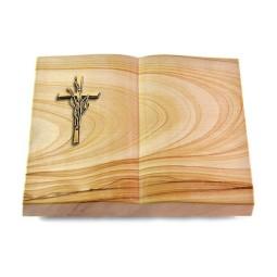 Livre/Rainbow Kreuz/Ähren (Bronze)