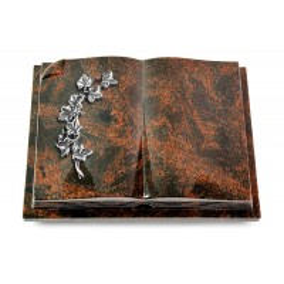 Livre Auris/Indisch-Black Efeu (Alu)