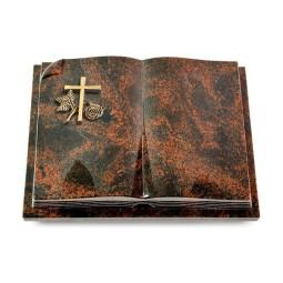 Livre Auris/Indisch-Black Kreuz 1 (Bronze)
