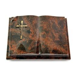 Livre Auris/Indisch-Black Kreuz/Ähren (Bronze)
