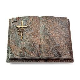 Livre Auris/Orion Kreuz/Rosen (Bronze)