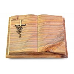 Livre Auris/Paradiso Kreuz/Rosen (Bronze)