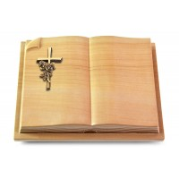 Livre Auris/Rainbow Kreuz/Rosen (Bronze)