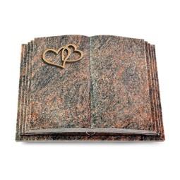 Livre Pagina/Aruba Herzen (Bronze)