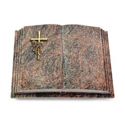 Livre Pagina/Aruba Kreuz/Rosen (Bronze)