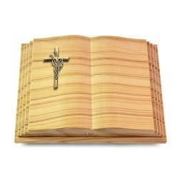 Livre Pagina/Rainbow Kreuz/Ähren (Bronze)