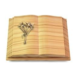 Livre Pagina/Rainbow Lilie (Bronze)