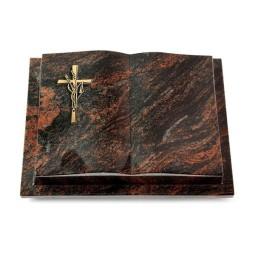 Livre Podest/Rainbow Kreuz/Ähren (Bronze)