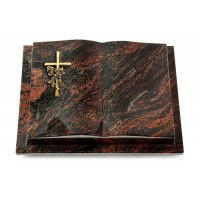 Livre Podest/Rainbow Kreuz/Rose (Bronze)