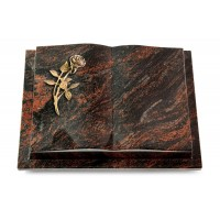 Livre Podest/Rainbow Rose 6 (Bronze)
