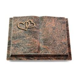 Livre Podest/Aruba Herzen (Bronze)