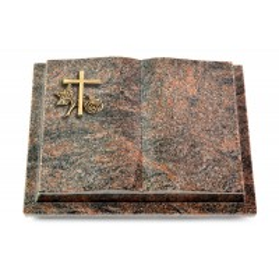 Livre Podest/Aruba Kreuz 1 (Bronze)