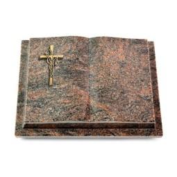 Livre Podest/Aruba Kreuz/Ähren (Bronze)