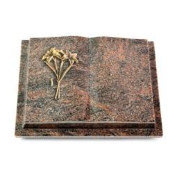 Livre Podest/Aruba Lilie (Bronze)
