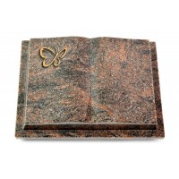 Livre Podest/Aruba Papillon (Bronze)