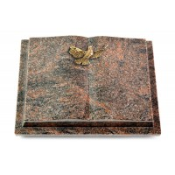 Livre Podest/Aruba Taube (Bronze)