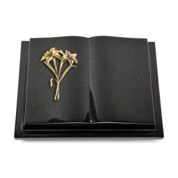 Livre Podest/Himalaya Lilie (Bronze)