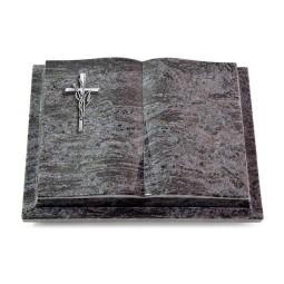 Livre Podest/Indisch Black Kreuz/Ähren (Alu)