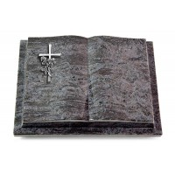 Livre Podest/Indisch Black Kreuz/Rose (Alu)