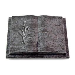 Livre Podest/Indisch Black Lilienzweig (Alu)