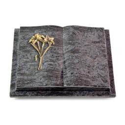 Livre Podest/Indisch Black Lilie (Bronze)