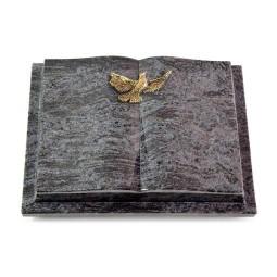 Livre Podest/Indisch Black Taube (Bronze)