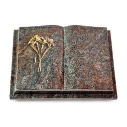 Livre Podest/Orion Lilie (Bronze)