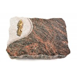 Himalaya Folio Kreuz/Rose (Bronze)