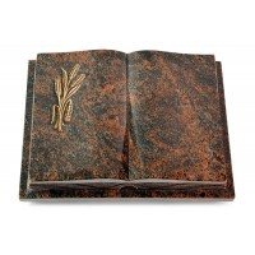 Livre Podest Folia/Woodland Ähren 1 (Bronze)