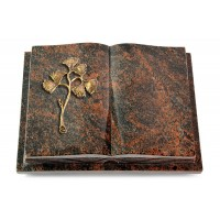 Livre Podest Folia/Woodland Gingozweig 1 (Bronze)
