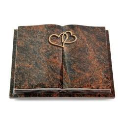Livre Podest Folia/Woodland Herzen (Bronze)
