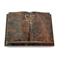 Livre Podest Folia/Woodland Papillon (Bronze)