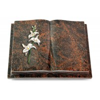 Livre Podest Folia/Woodland Orchidee (Color)