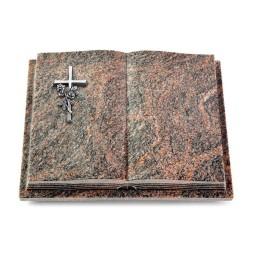 Livre Podest Folia/Aruba Kreuz/Rose (Alu)