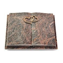 Livre Podest Folia/Aruba Herzen (Bronze)