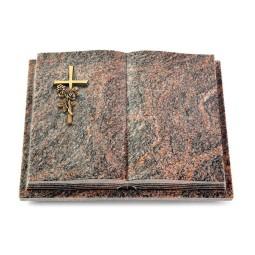 Livre Podest Folia/Aruba Kreuz/Rose (Bronze)