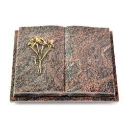 Livre Podest Folia/Aruba Lilie (Bronze)
