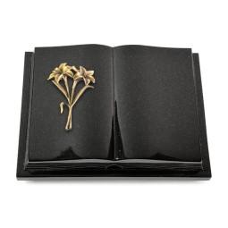Livre Podest Folia/Himalaya Lilie (Bronze)