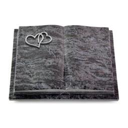 Livre Podest Folia/Indisch Black Herzen (Alu)