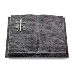 Livre Podest Folia/Indisch Black Kreuz 1 (Alu)