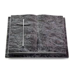 Livre Podest Folia/Indisch Black Kreuz 2 (Alu)